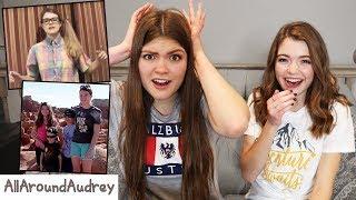 Reacting To My Cringy Private Videos / AllAroundAudrey