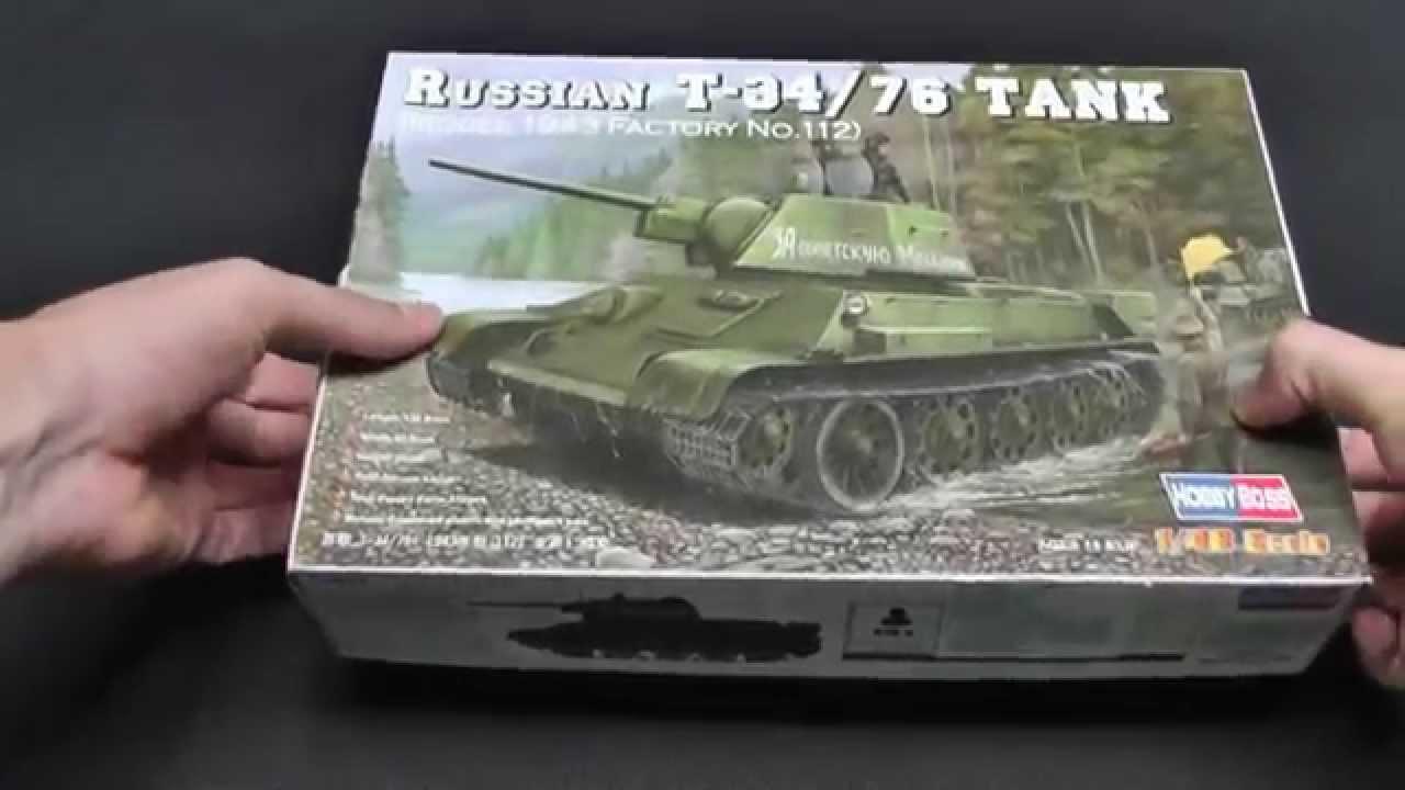 Trumpeter Models T-34/72 tank Hob...