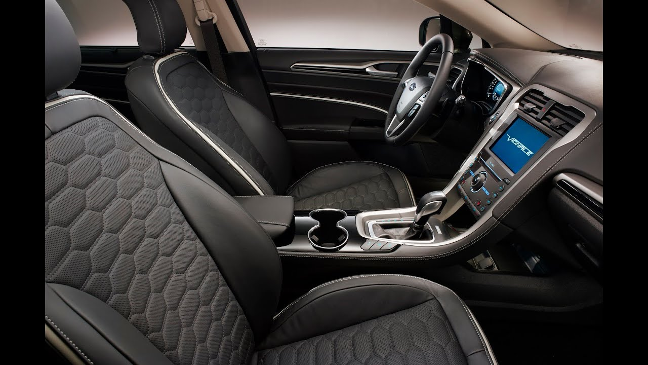 Ford mondeo vignale interior youtube - Ford mondeo interior ...
