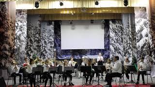 Гусарский марш в исполнении оркестра музыкальной школы района