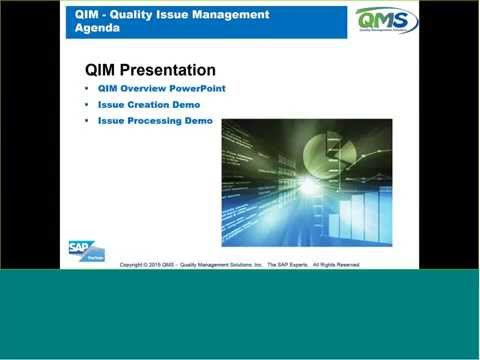 quality issues in management Quality management is a continuous process that starts and ends with the project the problems when its needed and not after, this is a crucial.