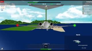 Roblox: Flight 2011 Low Landing At St. Maarten
