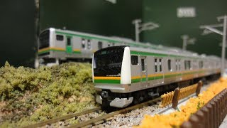 【鉄道模型紹介】KATO E233系3000番台 宇都宮線・高崎線