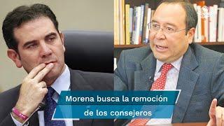 Morena busca la remoción de los consejeros electorales, al argumentar que atentaron contra la imparcialidad