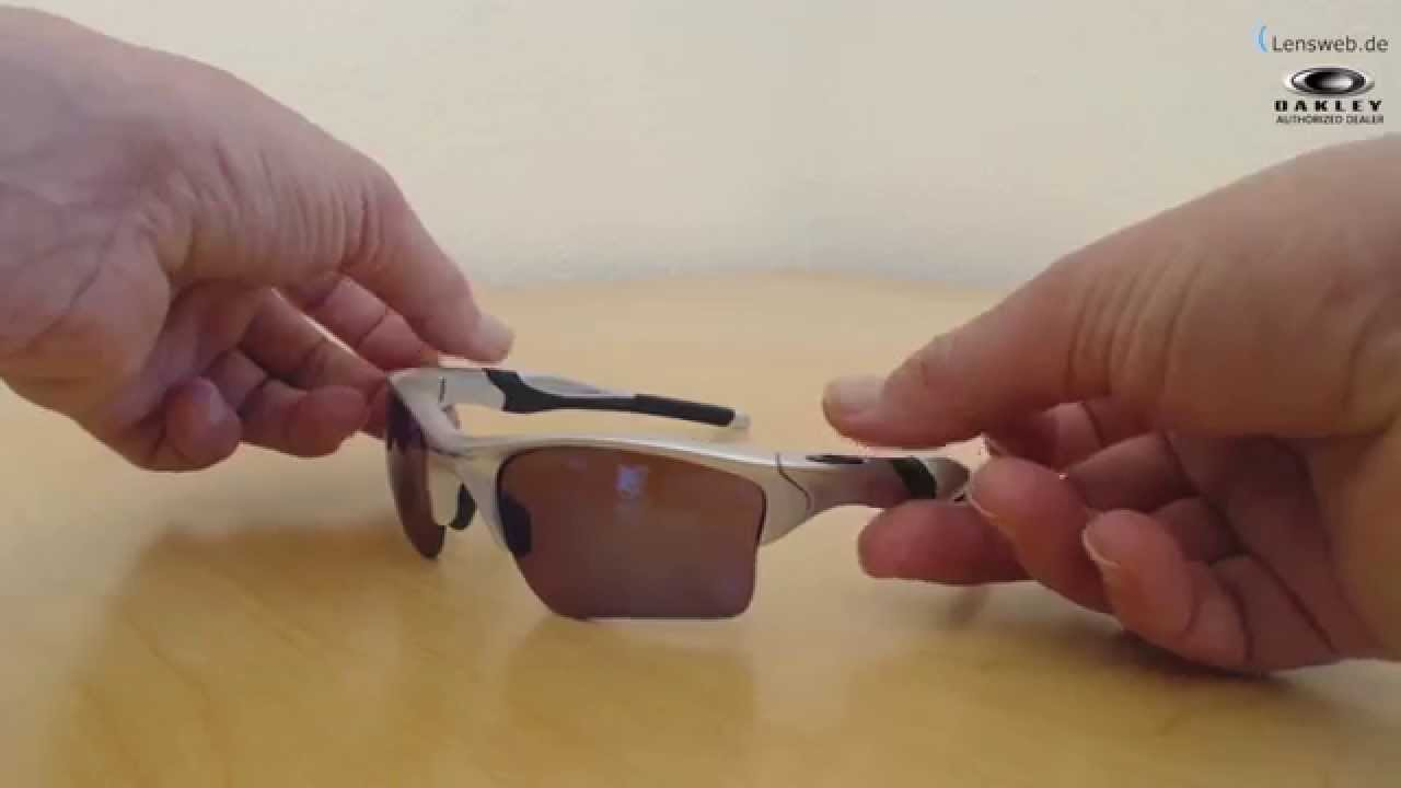 15e908065d Oakley Half Jacket 2.0 XL - Silver - G30 Iridium Polarized - YouTube