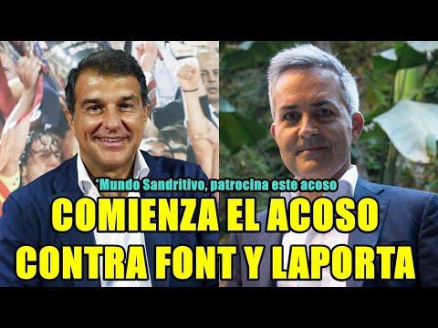 FONT Y LAPORTA ATACADOS POR EL CONFIDENCIAL Y MUNDO SANDRITIVO DA PUBLICIDAD A LA DIFAMACIÓN