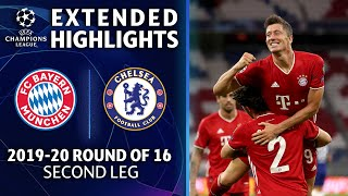 Bayern Munich vs. Chelsea | Champions League Round of 16 Highlights | UCL on CBS Sports