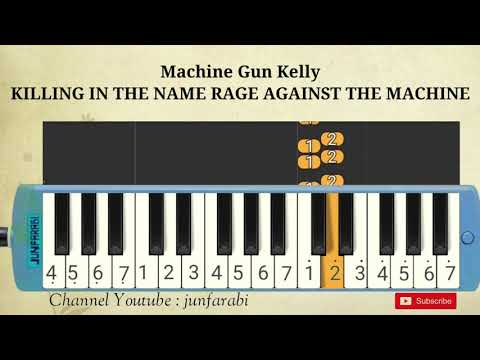 Machine Gun Kelly – KILLING IN THE NAME RAGE AGAINST THE MACHINE – pianica