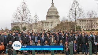 Public Affairs Webinar held in the USA