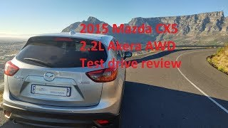 2015 Mazda CX5 2.2L Akera AWD Test drive review