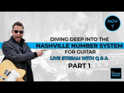 Diving Deep Into The Nashville Number System for Guitar - Part 1 - Live Lesson + Q&A