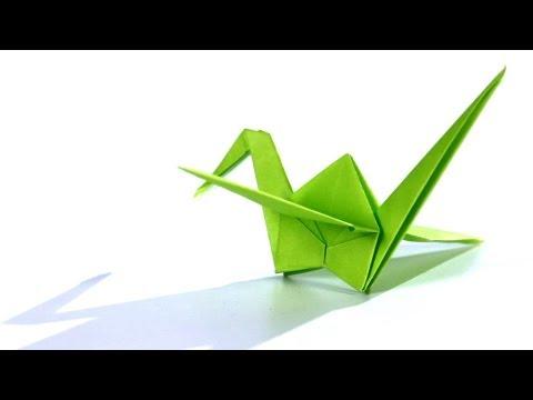 How to Make a Crane | Origami