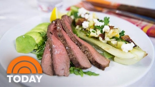 Adam Richman's Valentine's Day Recipes: 'Four Of Hearts' Salad, Bone-In Rib-Eye   TODAY