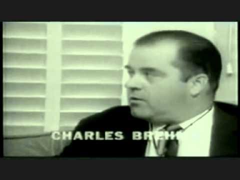 JFK Assassination Mark Lane interviews witness Charles Brehm