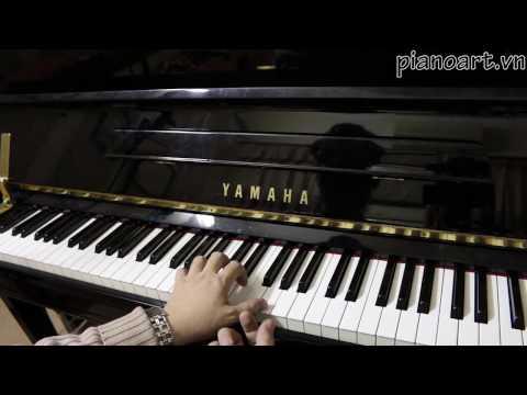 [Học Piano] Phương Pháp Chuyển Ngón Phù Hợp Với Các Hợp Âm
