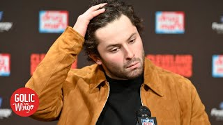 Baker Mayfield apologizes for saying Odell Beckham's injury 'wasn't handled right' | Golic and Wingo