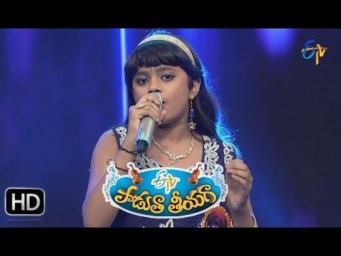 Oka Paaru Mugguru Song | Jaahnavi Performance | Padutha Theeyaga | 17th September 2017 | ETV Telugu