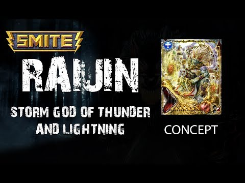 SMITE: Raijin - Storm God of Thunder and Lightning [God Concept]