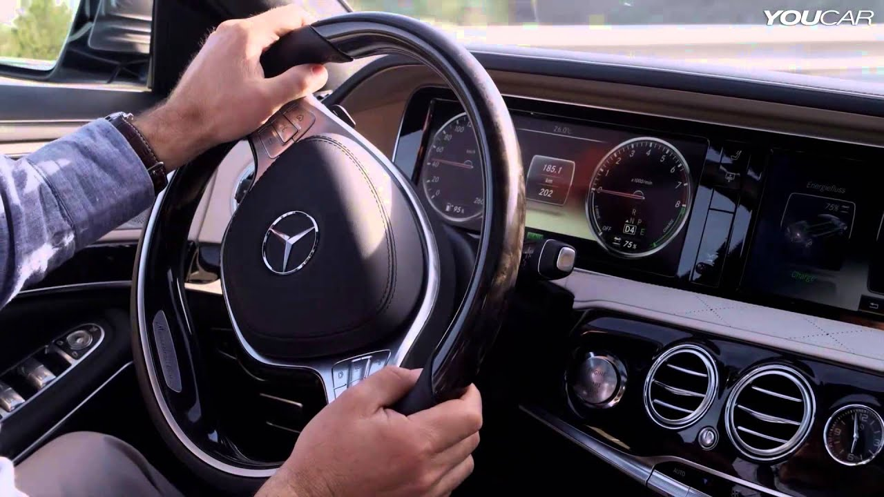 2014 Mercedes S 400 Hybrid on the road - YouTube