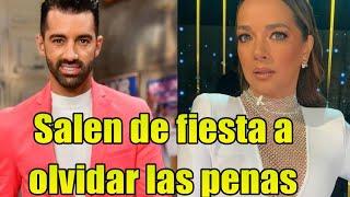 Adamari Lopez y Toni Costa CAPTADOS de fiesta así olvidan las penas!