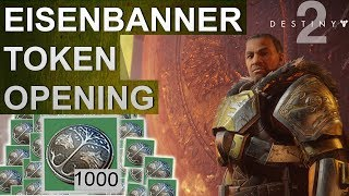 Destiny 2: Eisenbanner Token Opening #016 (Deutsch/German)