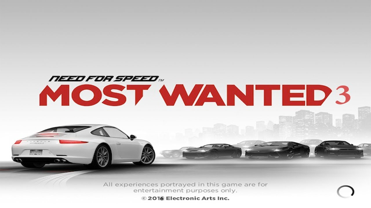 need for speed most wanted 3 official trailer 2016 youtube. Black Bedroom Furniture Sets. Home Design Ideas