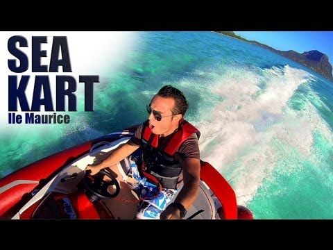 Sea Kart in Mauritius Island