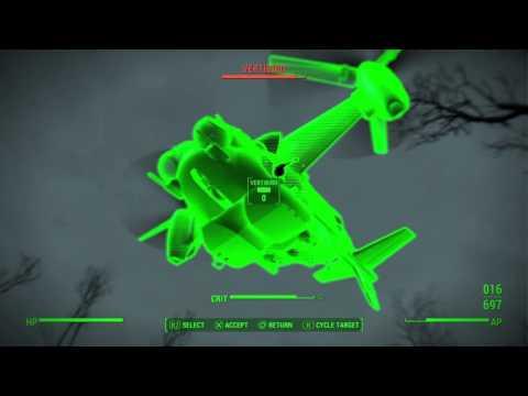 Fallout 4: Gunners stole a Vertibird