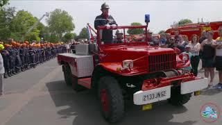 Congrès départemental des sapeurs pompiers 2018 à Avion