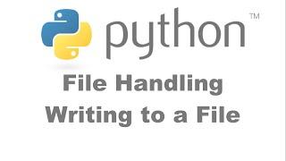 File Handling Writing to File [HD 1080p]