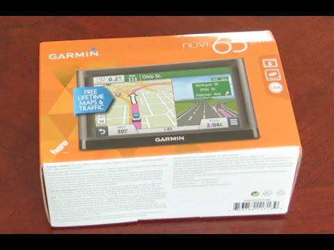 "Unboxing Video Review Garmin nuvi 65LMT 6"" GPS"