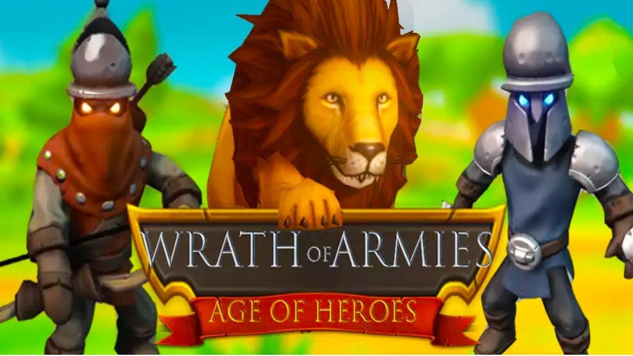 Wrath of Armies : Age of Heroes strategy/RPG Android Gameplay u1d34u1d30