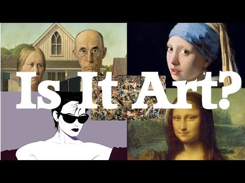 Is it Art? A (very) Short Film