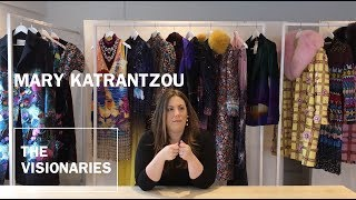 THE VISIONARIES: Mary Katrantzou, fashion designer