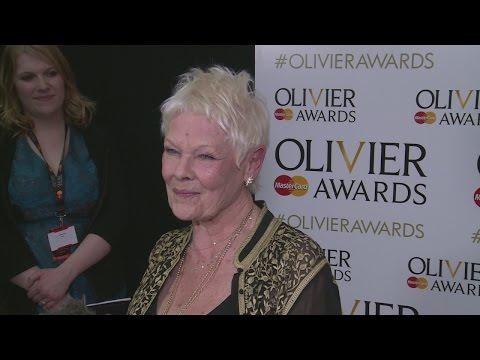 """Olivier Awards: Judi Dench calls Kenneth Branagh a """"nightmare""""!"""