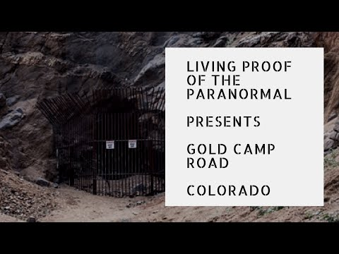 Living Proof of the Paranormal: Throwback! Gold Camp Road in Colorado