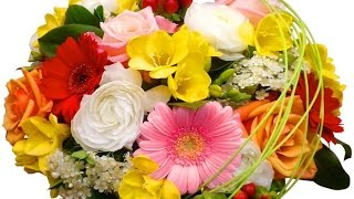 Музыкальная открытка Букеты Цветов! САМЫЕ красивые букеты!