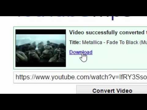 COMO DESCARGAR MÚSICA POR YOUTUBE MP3