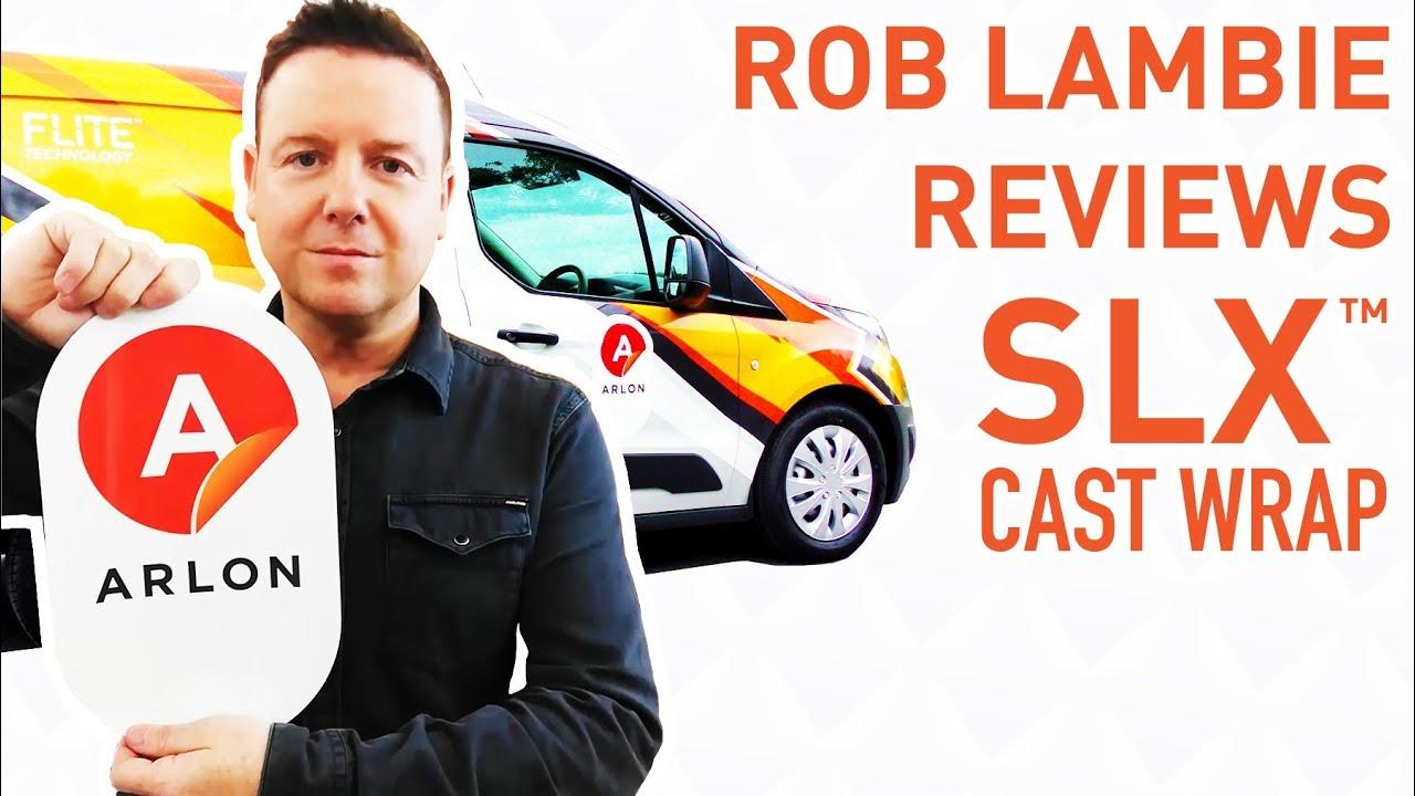 Rob Lambie reviews SLX™ Cast Wrap + FLITE Technology®