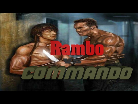 Rambo (Stallone) vs Commando (Schwarzenegger) thumbnail