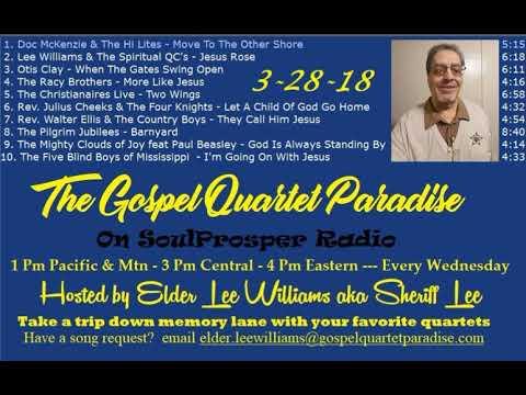 3 28 18 Gospel Quartet Paradise KSPR