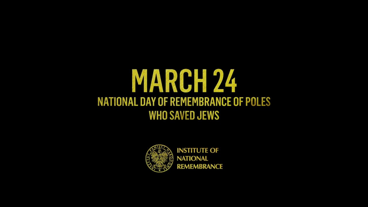 IPNtv: 24 March National Day of Remembrance of Poles who saved Jews