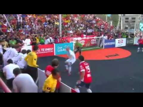 BiH - Čile (Homeless World Cup Chile 2014)