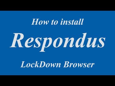 Installing Respondus LockDown Browser For Southeastern Students