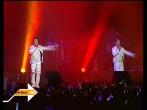 Westlife  Korea Concert 04 Amazing 06 09 2006
