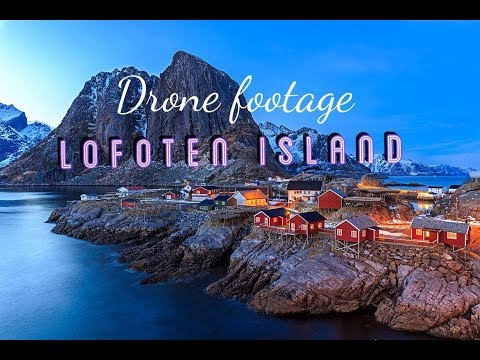 Awesome Drone Footage in Lofoten -Norway By Fathi Media