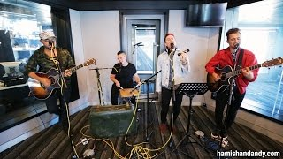 Walk The Moon - Shut Up and Dance (Acoustic on Hamish & Andy)