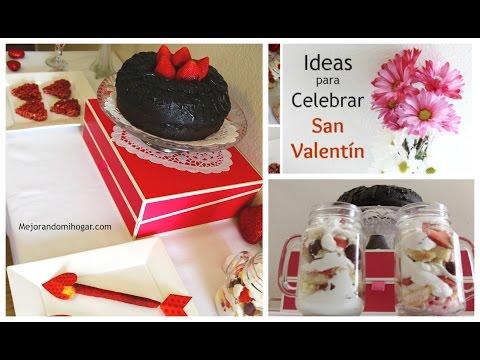 Ideas de postres y snacks para regalar en San Valentin