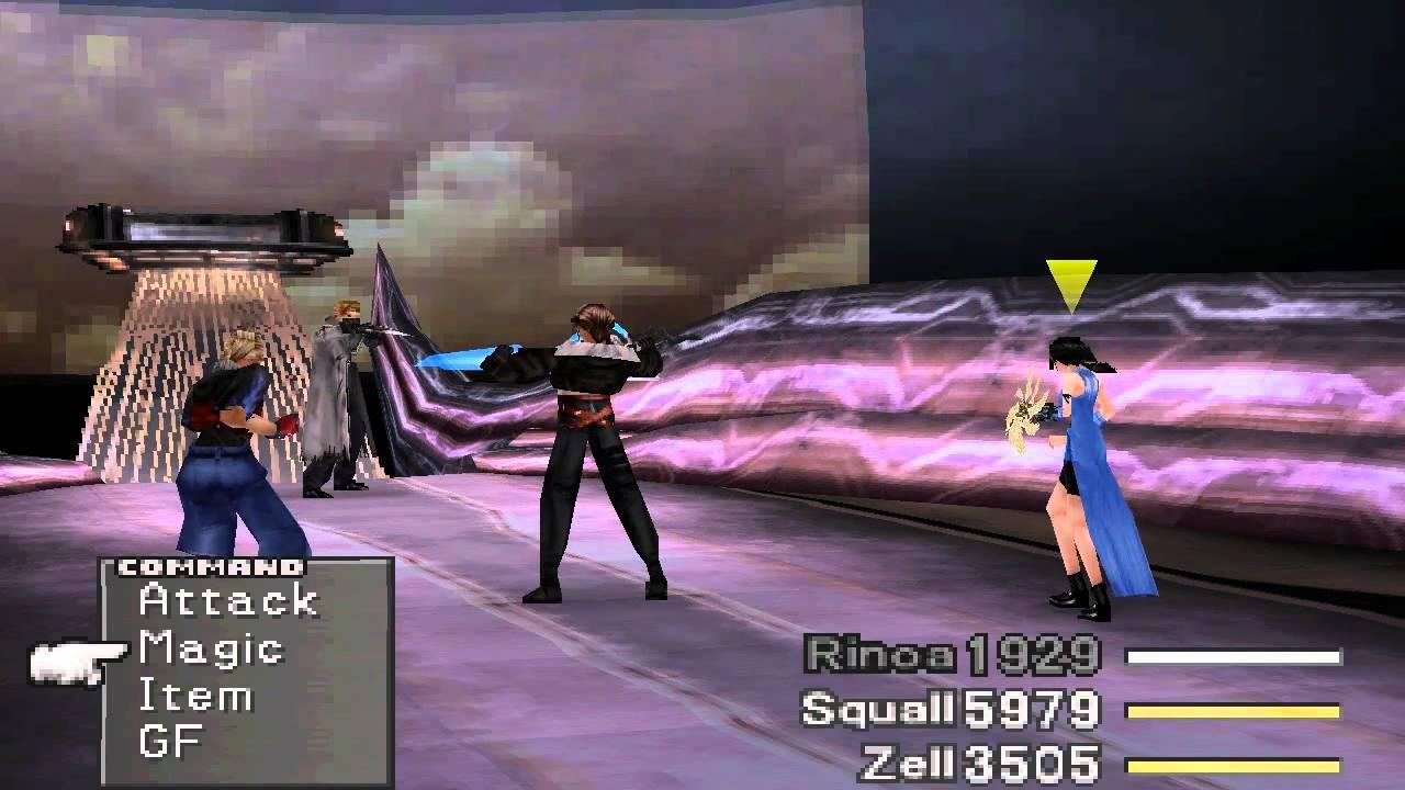Final Fantasy 8 Walkthrough Part 128 Boss Seifer 3