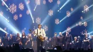 Paul McCartney Edmonton 2nd Night   Wonderful Christmas Time 2